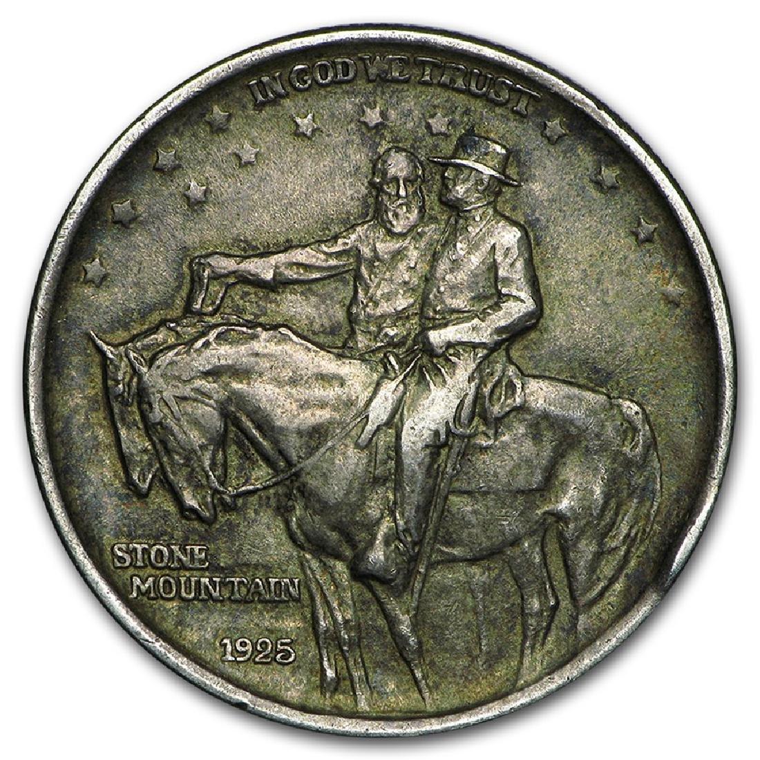 1925 Stone Mountain Memorial Commemorative Silver Half