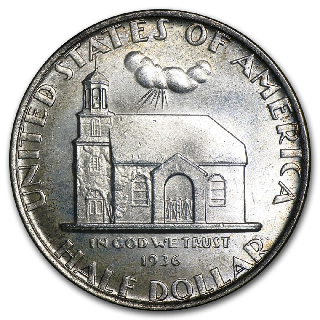 1936 Delaware Tercentenary Half Dollar Coin