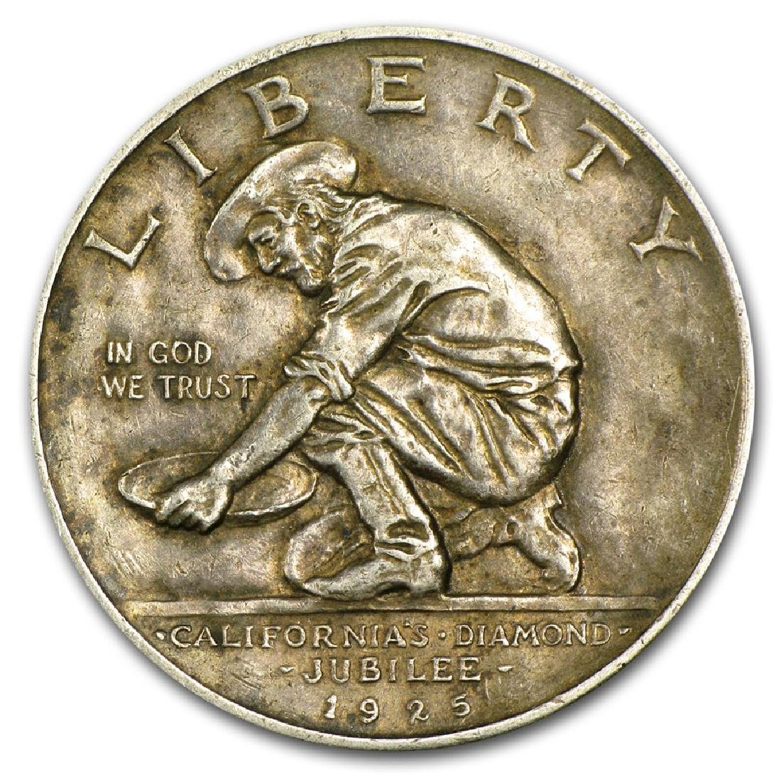 1925-S California Diamond Jubilee Commemorative Half