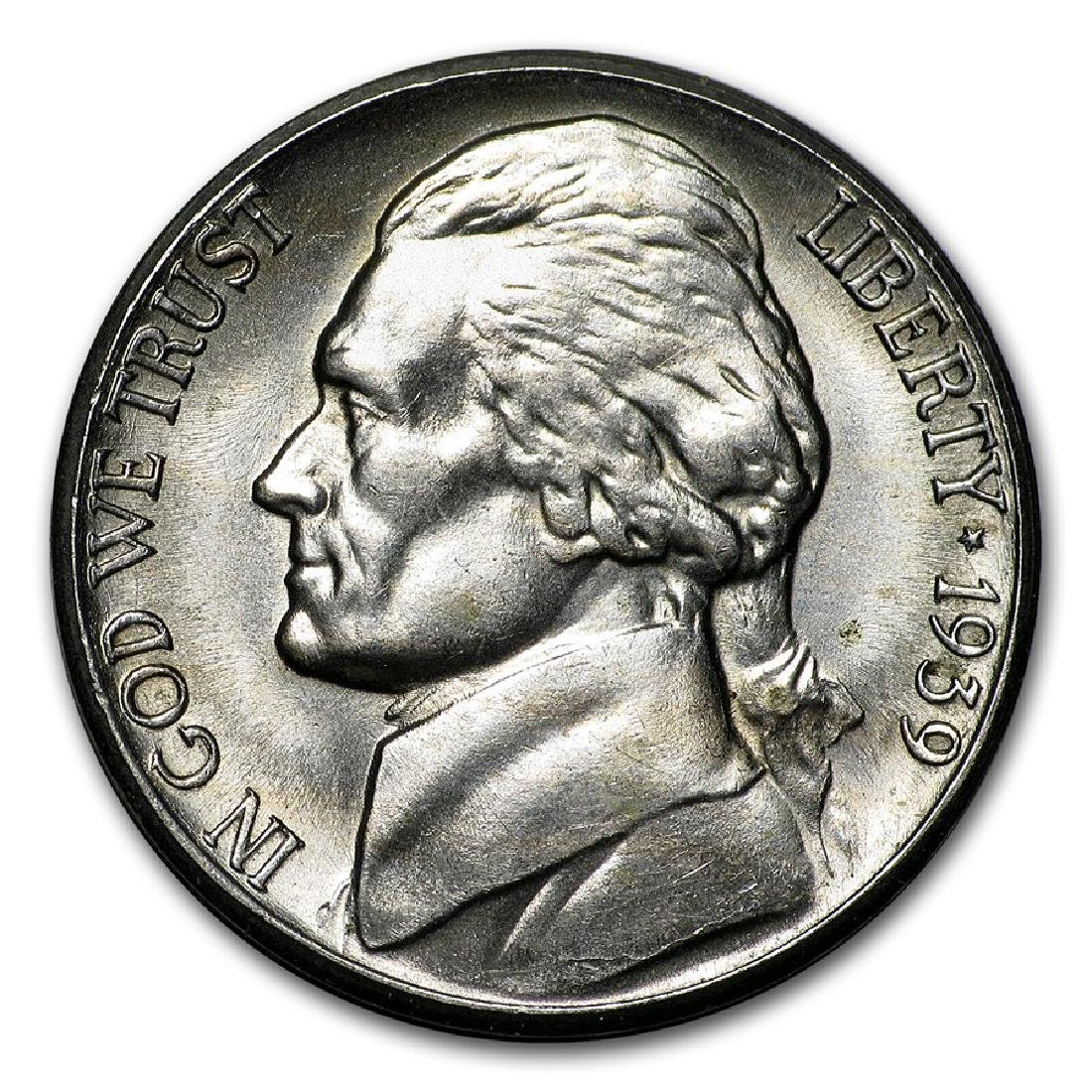 1939-S Jefferson Nickel Coin