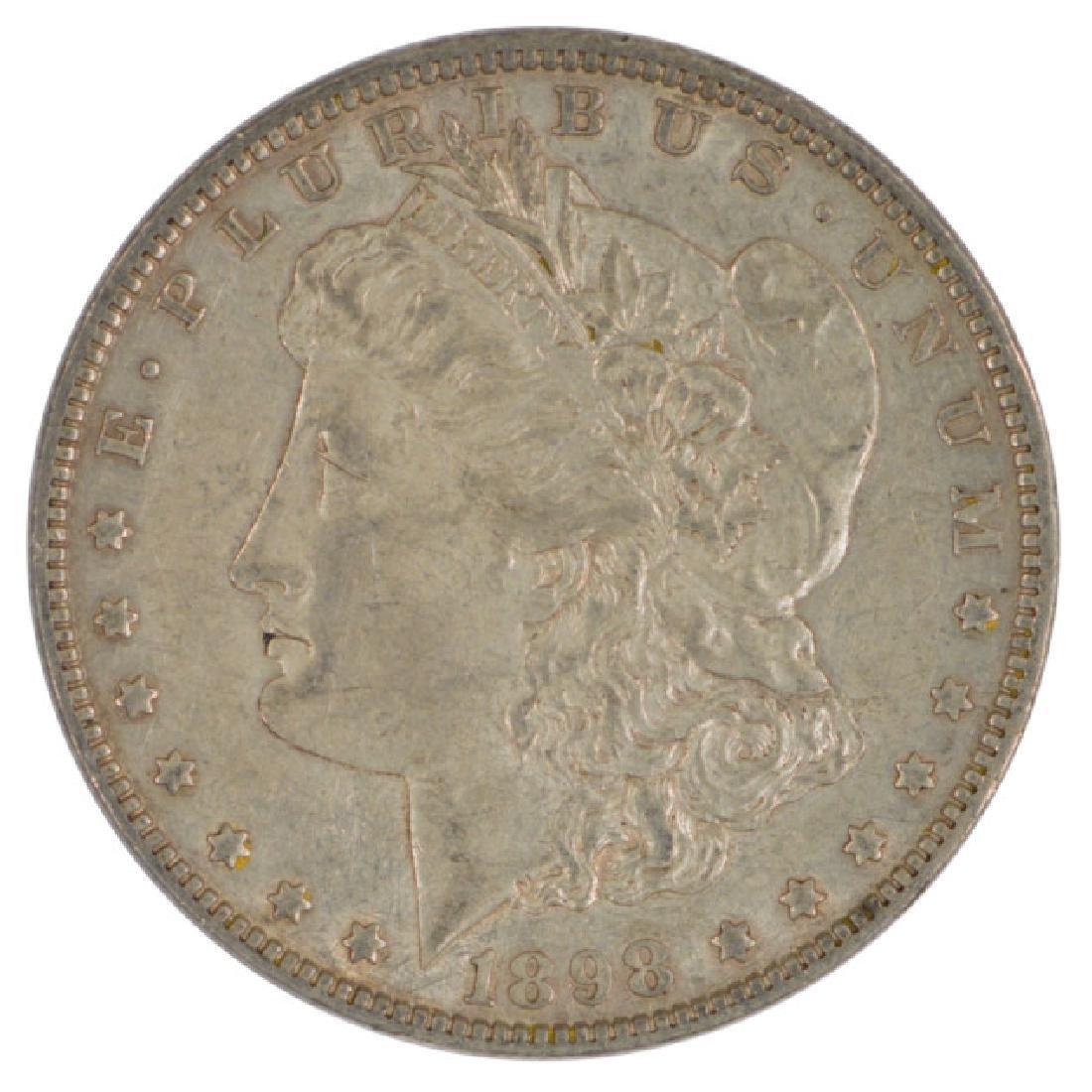 1898 $1 Morgan Silver Dollar Coin