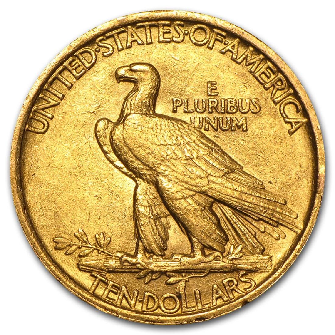 1907 $10 Indian Head Gold Coin - 2