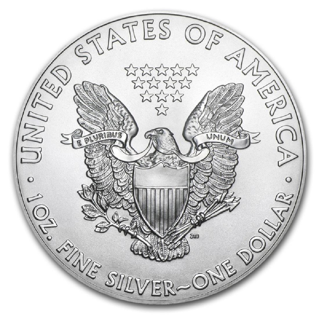 2018 1 oz American Eagle Silver Coin - 2