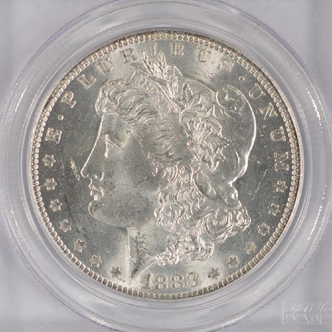 1883-O $1 Morgan Silver Dollar Coin PCGS MS64 - 3