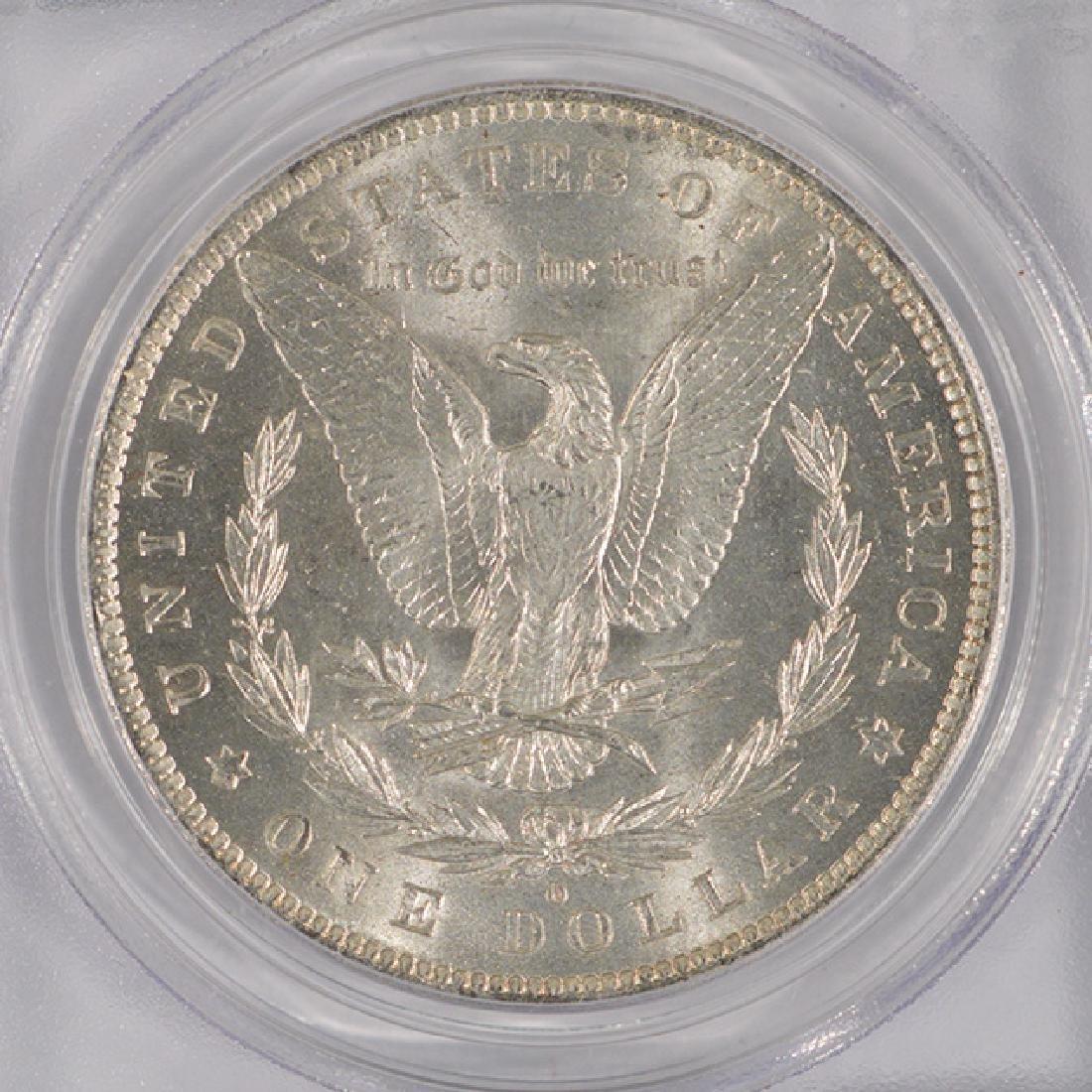 1883-O $1 Morgan Silver Dollar Coin PCGS MS64 - 4