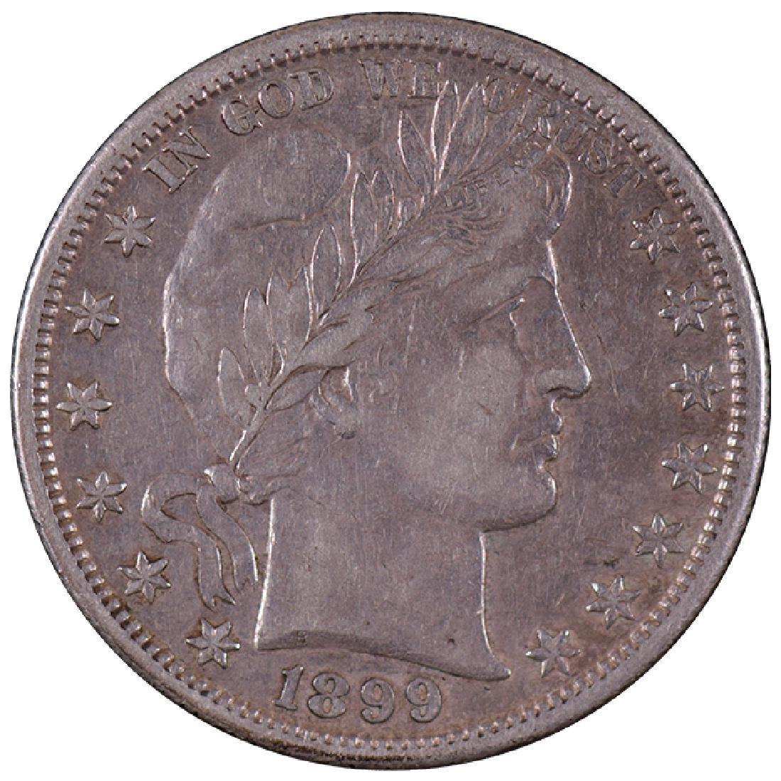 1899-S Barber Half Dollar Coin