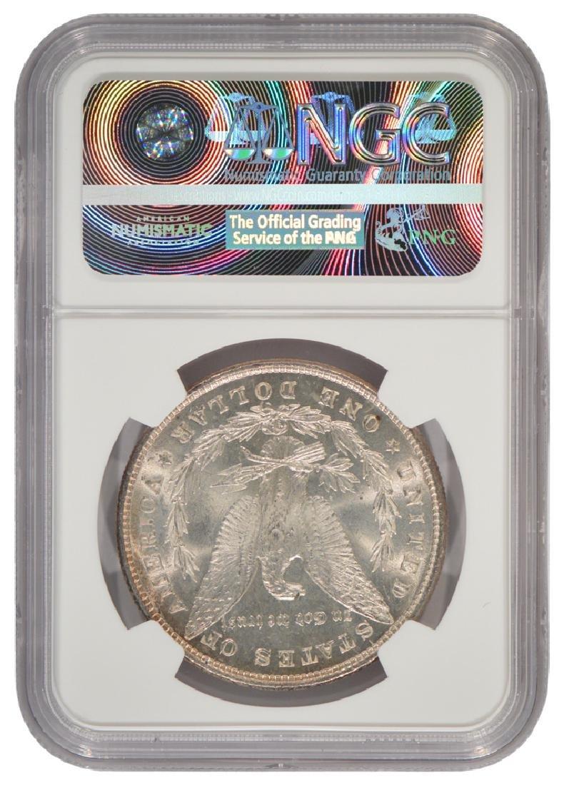 1878 8TF $1 Morgan Silver Dollar Coin NGC MS63 - 2