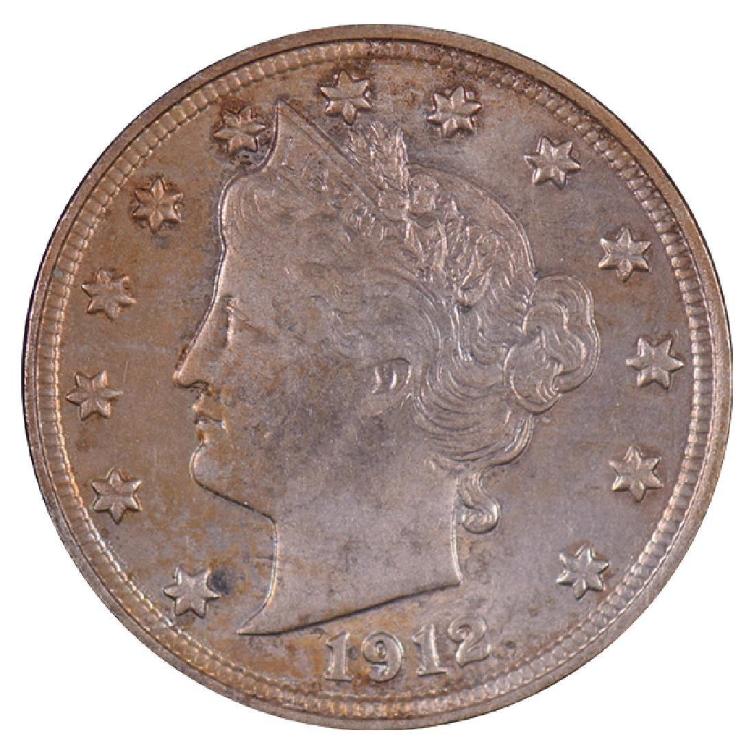 1912 Liberty Nickel Coin