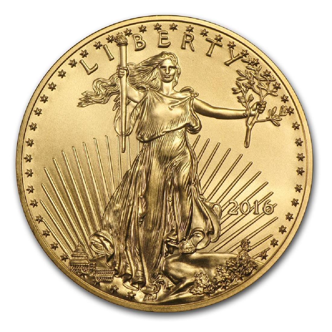 2016 $50 American Eagle 1 oz Gold Coin