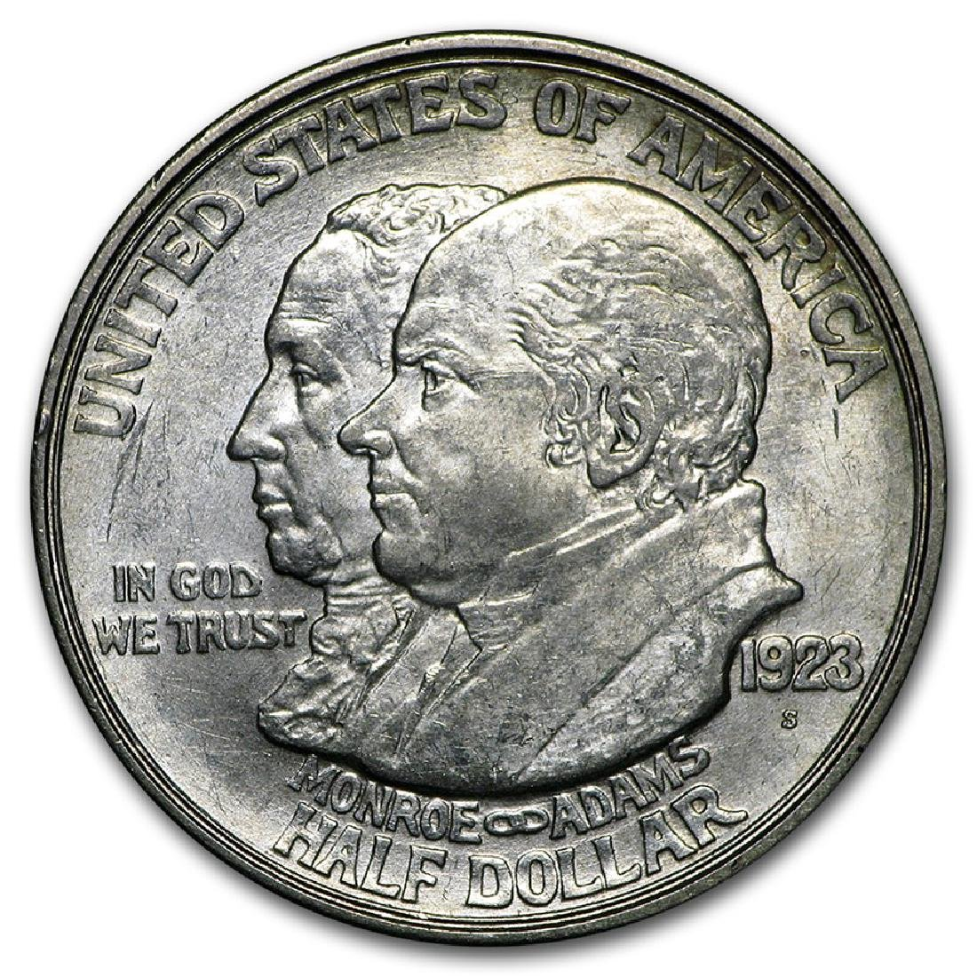 1923-S Monroe Doctrine Half Dollar Coin
