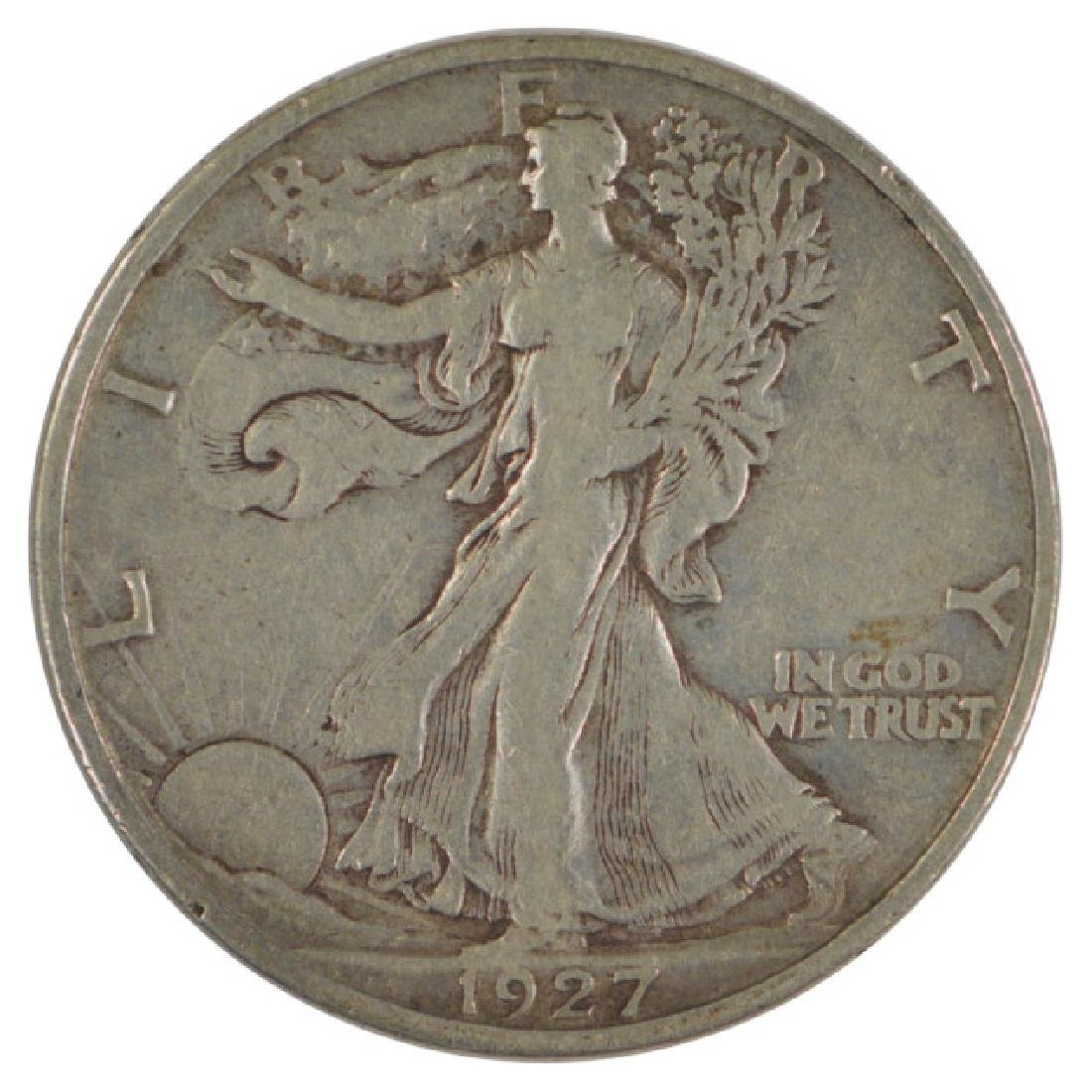 1927-S Walking Liberty Half Dollar Coin