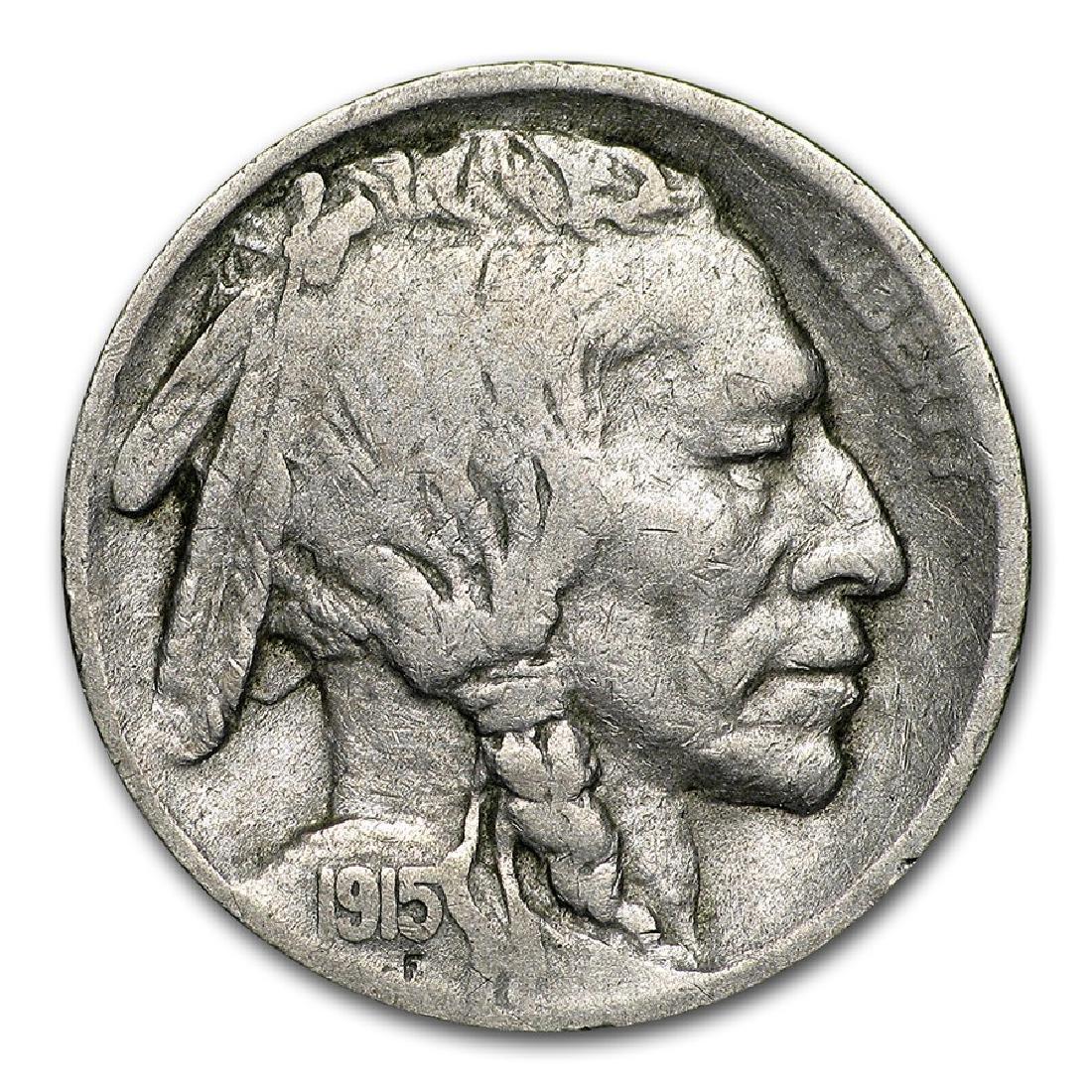 1915-S Buffalo Nickel Coin