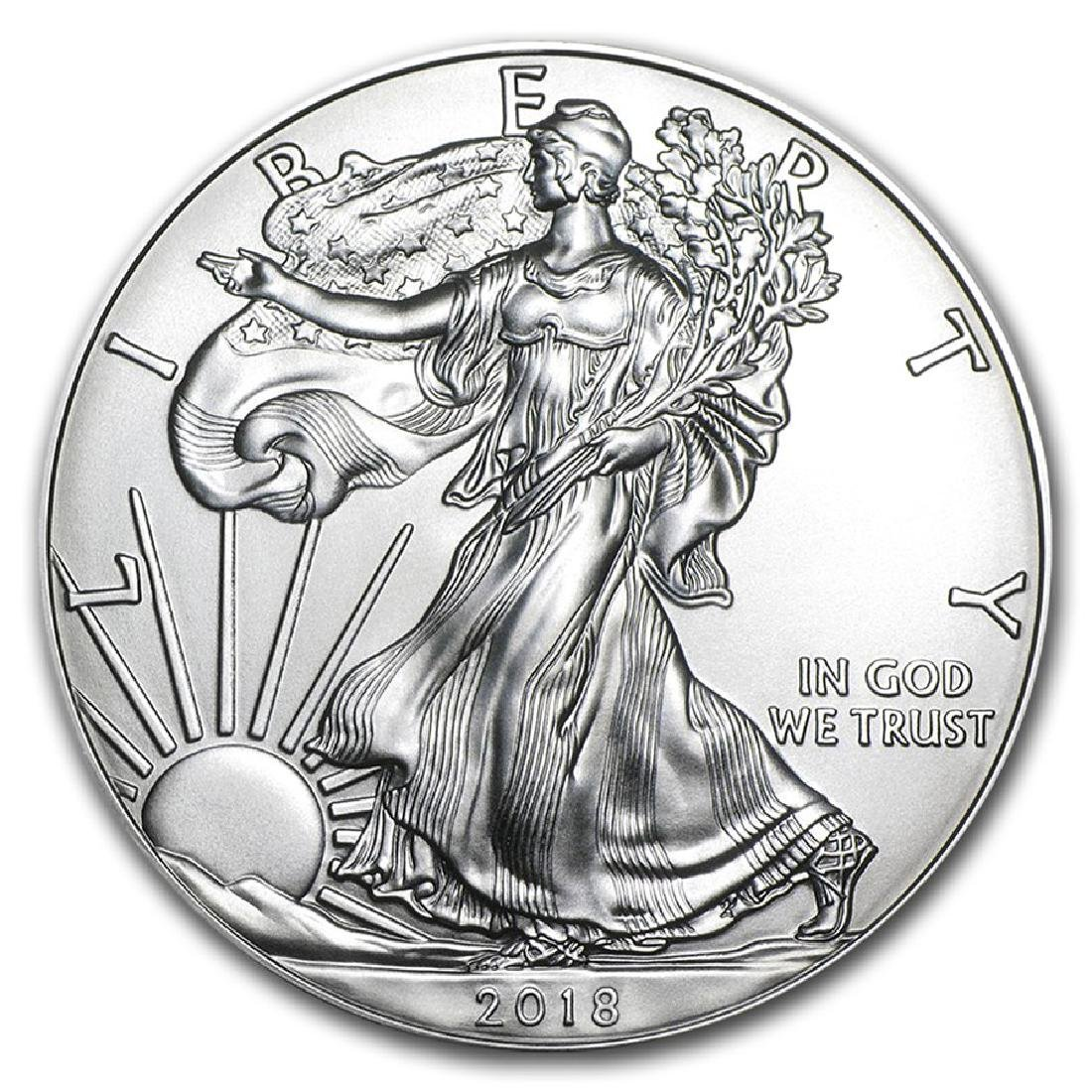 2018 1 oz American Eagle Silver Coin