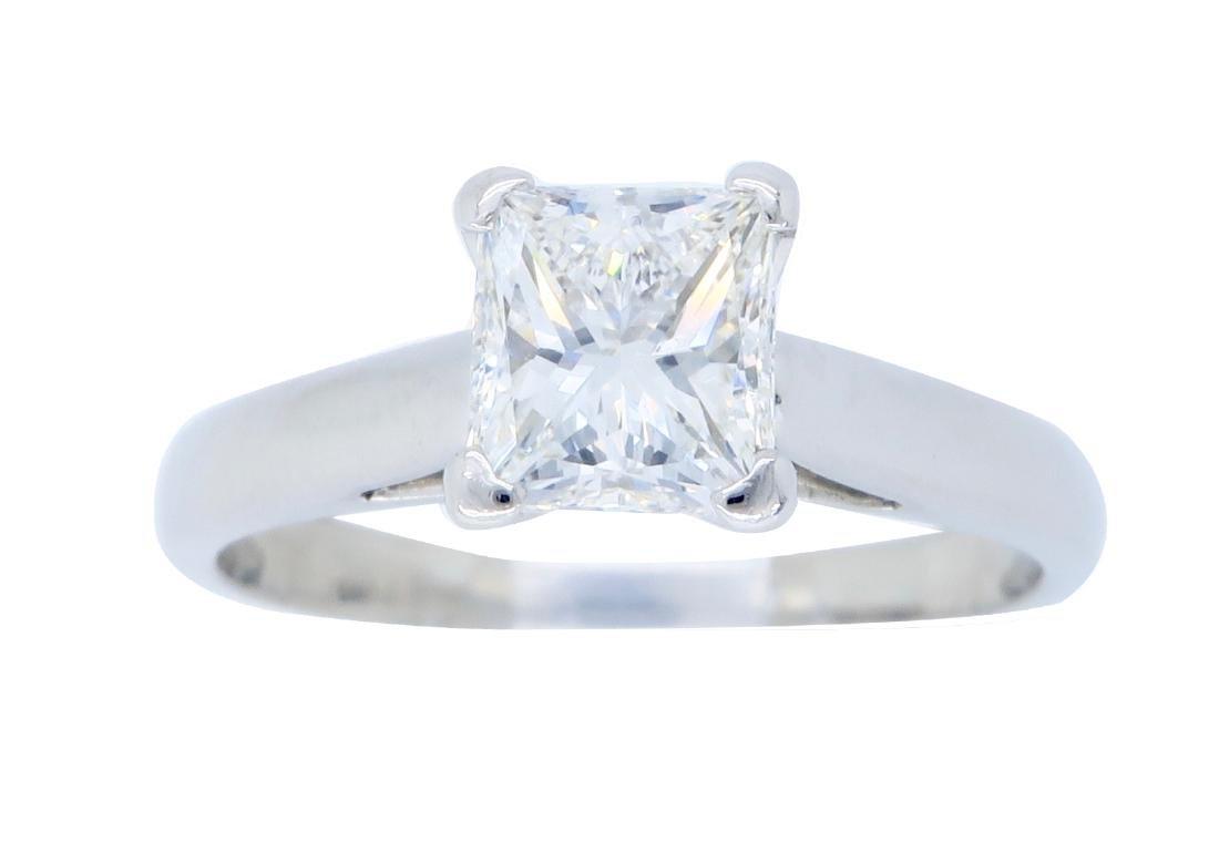 Platinum 1.01ct GIA Cert Diamond Ring