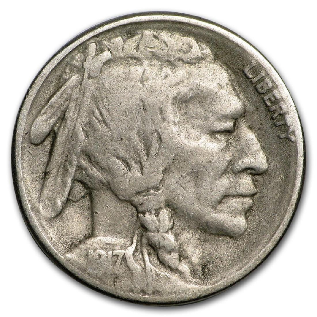 1917-S Buffalo Nickel Coin