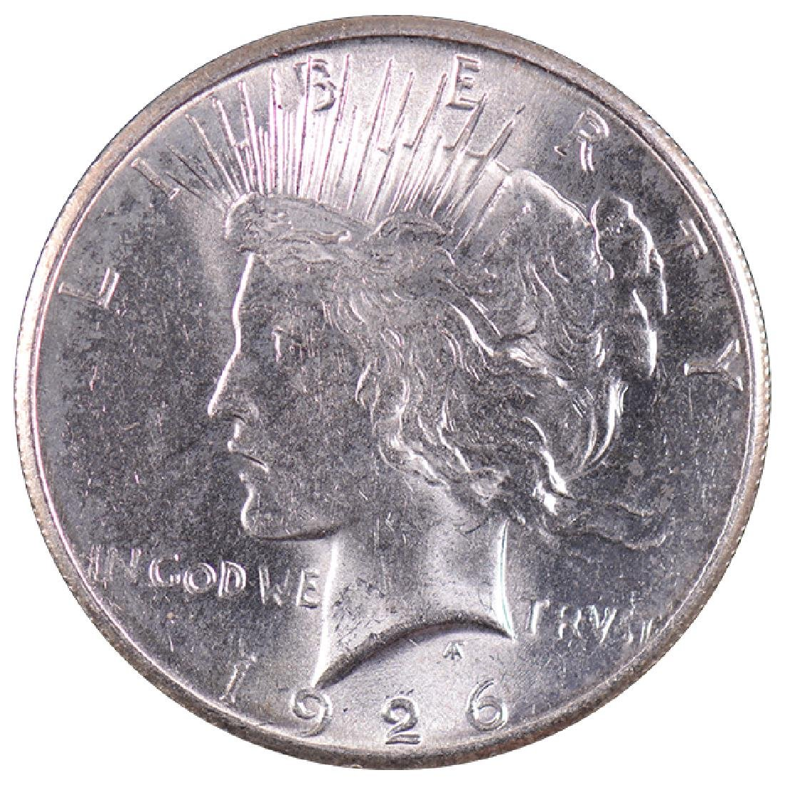 1926 $1 Peace Silver Dollar Coin