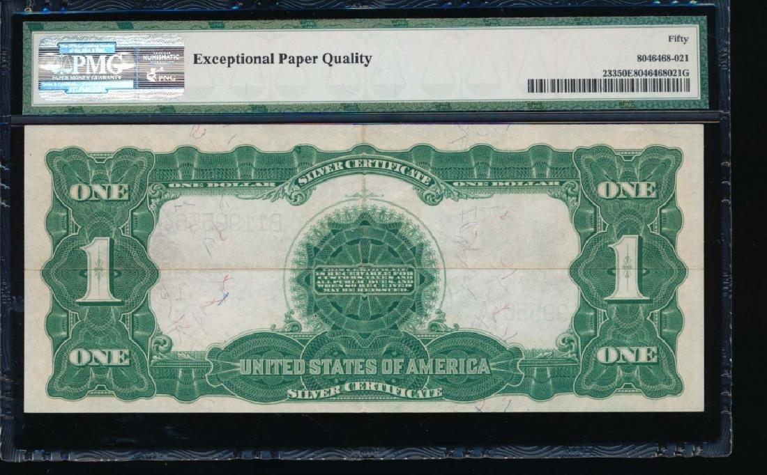 1899 $1 Black Eagle Silver Certificate PMG 50EPQ - 2