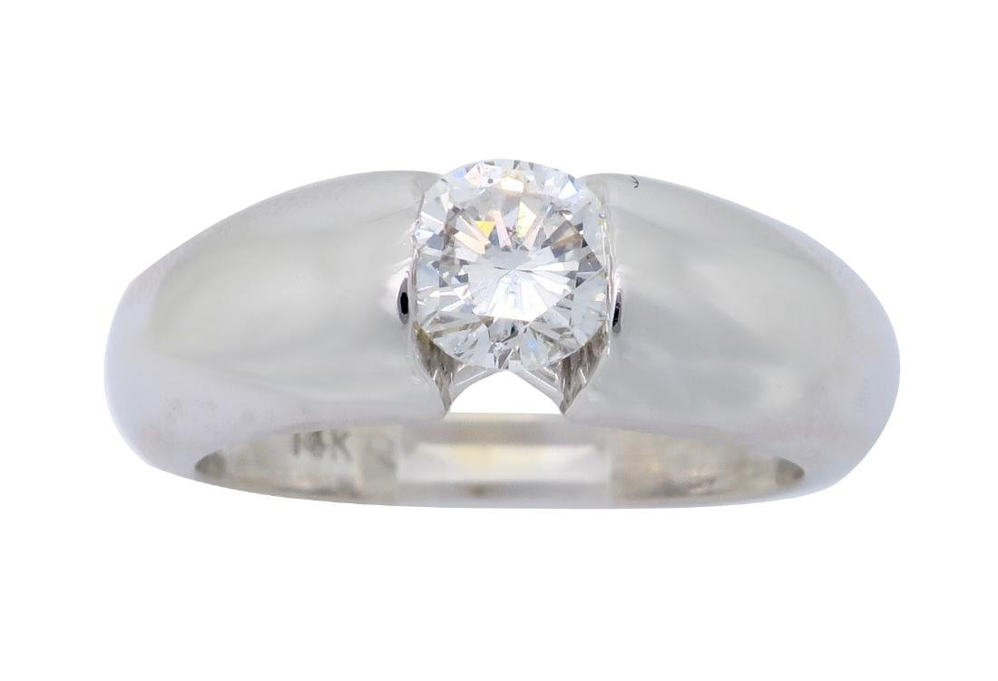 14KT White Gold 0.46ct Diamond Ring