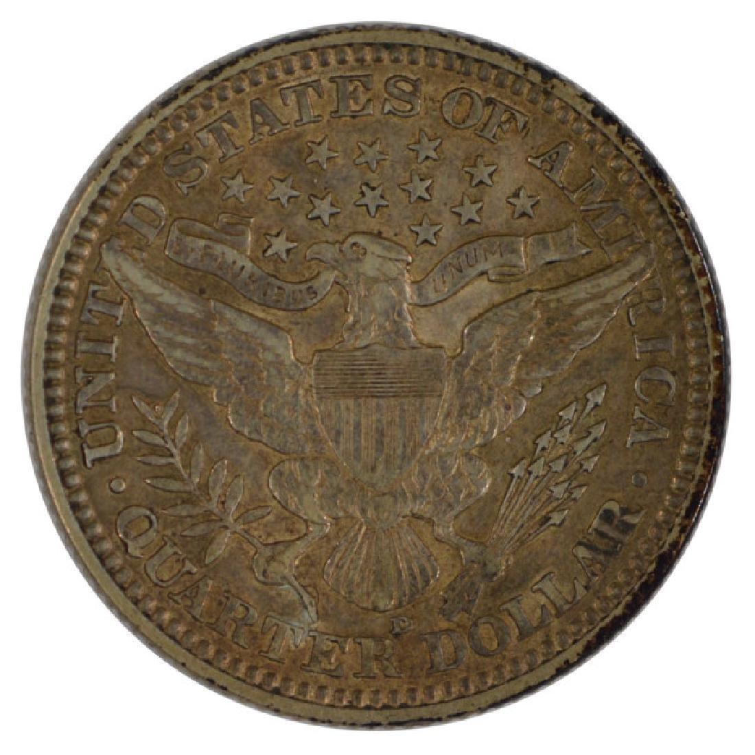 1916-D Barber Quarter Coin - 2