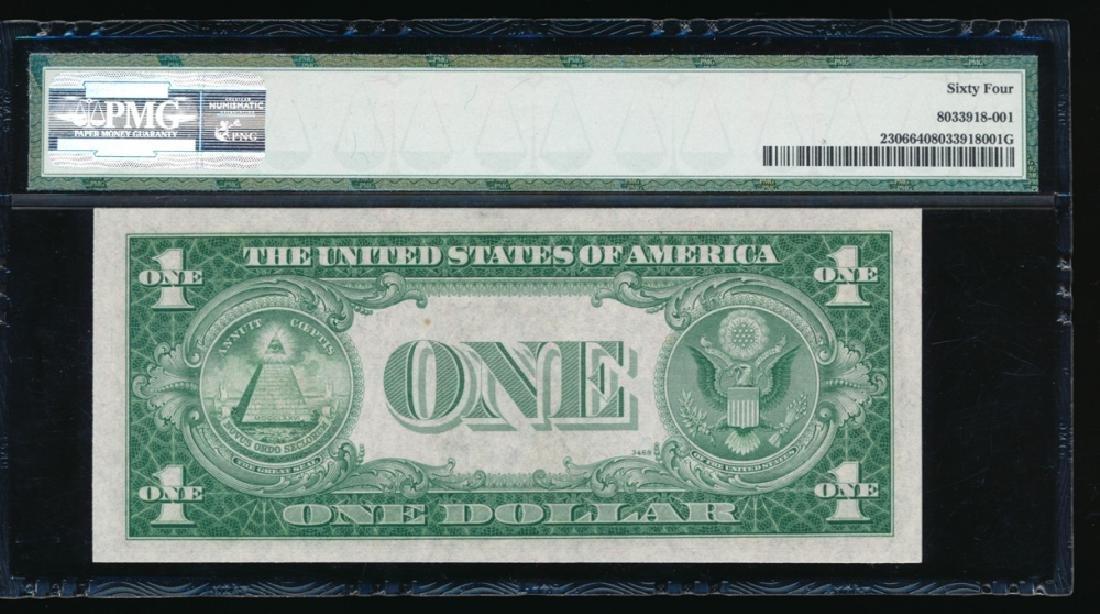 1935A $1 North Africa Silver Certificate PMG 64 - 2