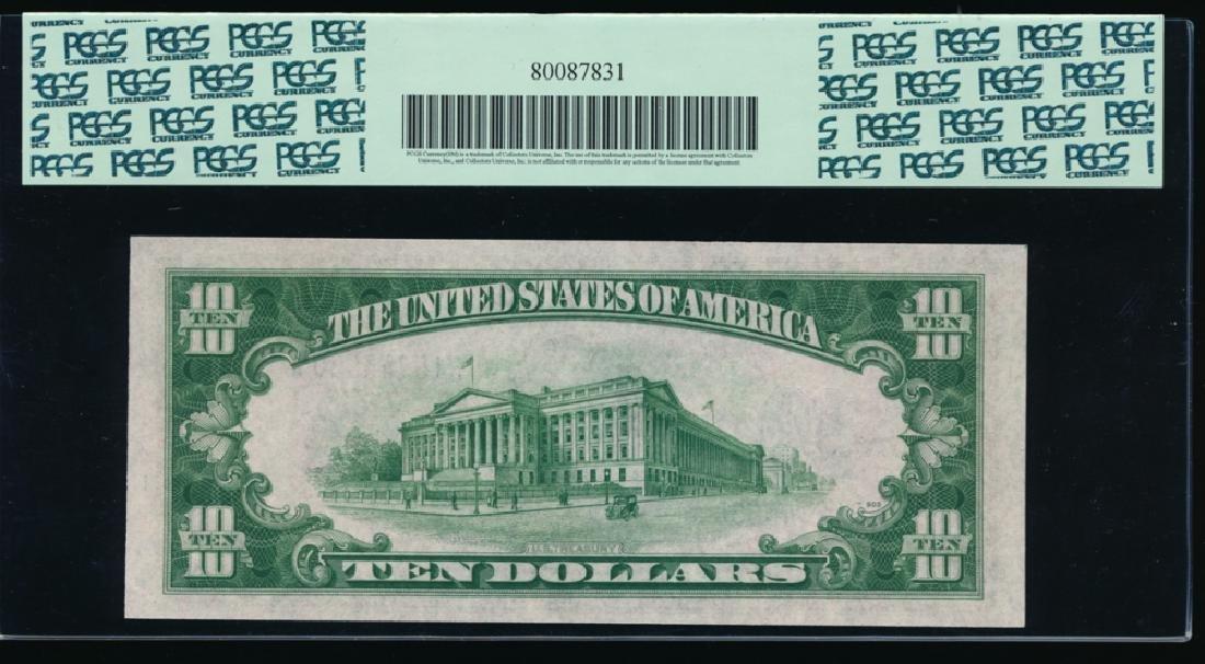 1934A $10 Silver Certificate PCGS 65PPQ - 2