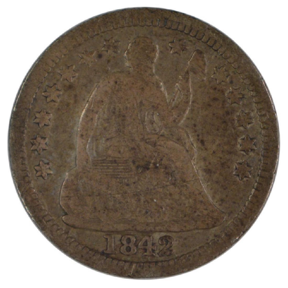 1842-O Liberty Seated Half Dime Coin