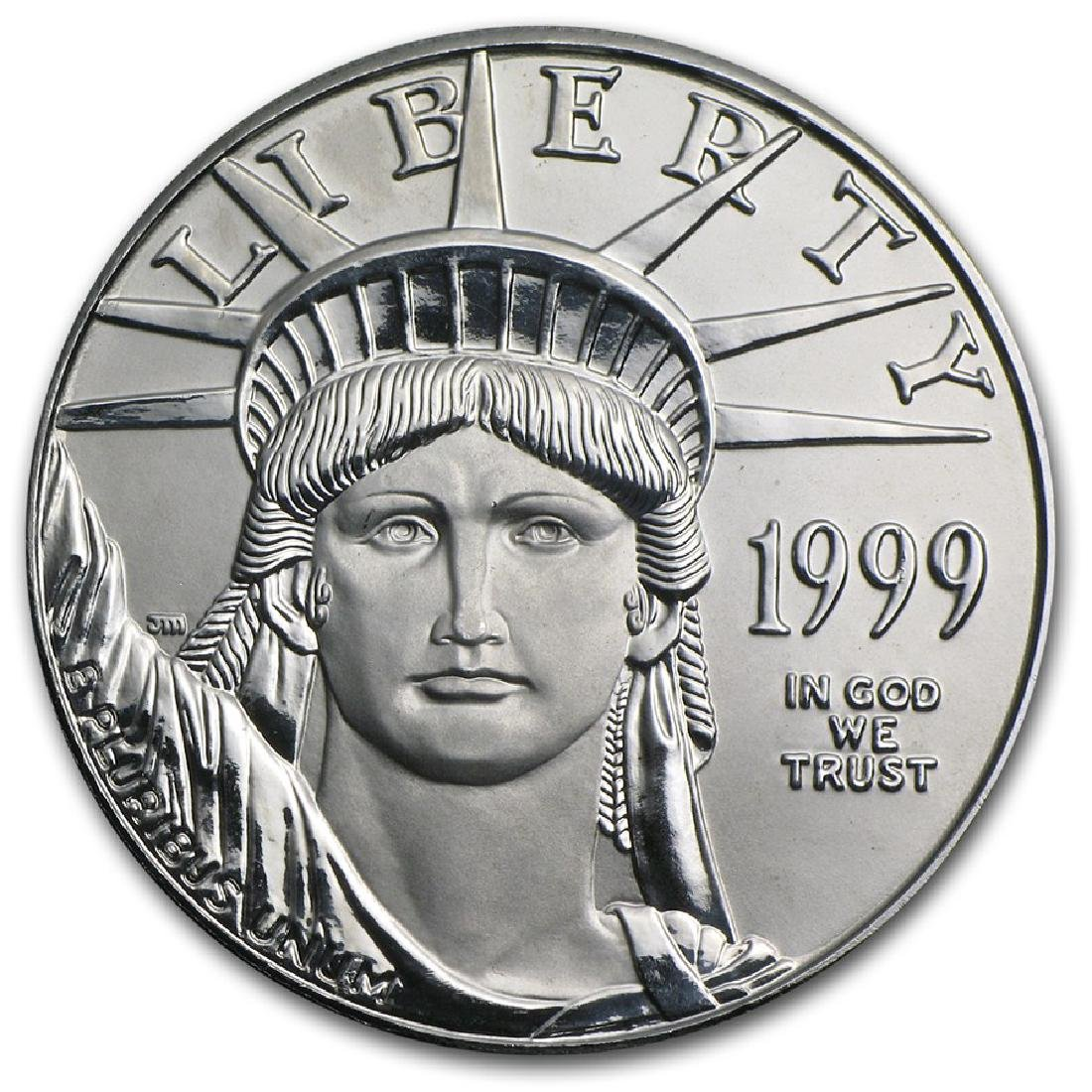 1999 $100 Platinum 1oz American Eagle Coin