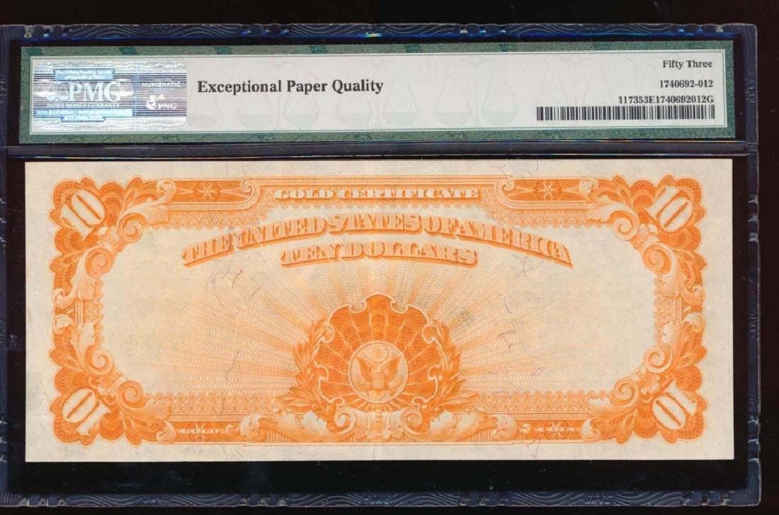 1922 $10 Gold Certificate PMG 53EPQ - 2