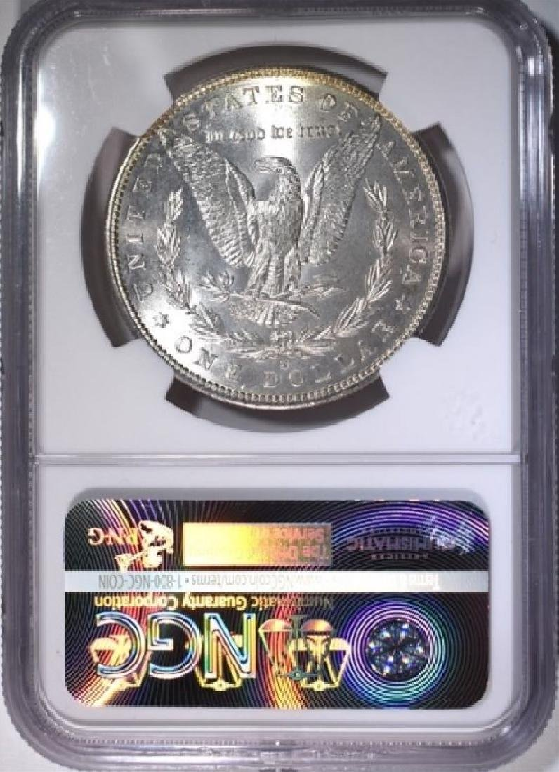 1882-S $1 Morgan Silver Dollar Coin NGC MS65 - 2