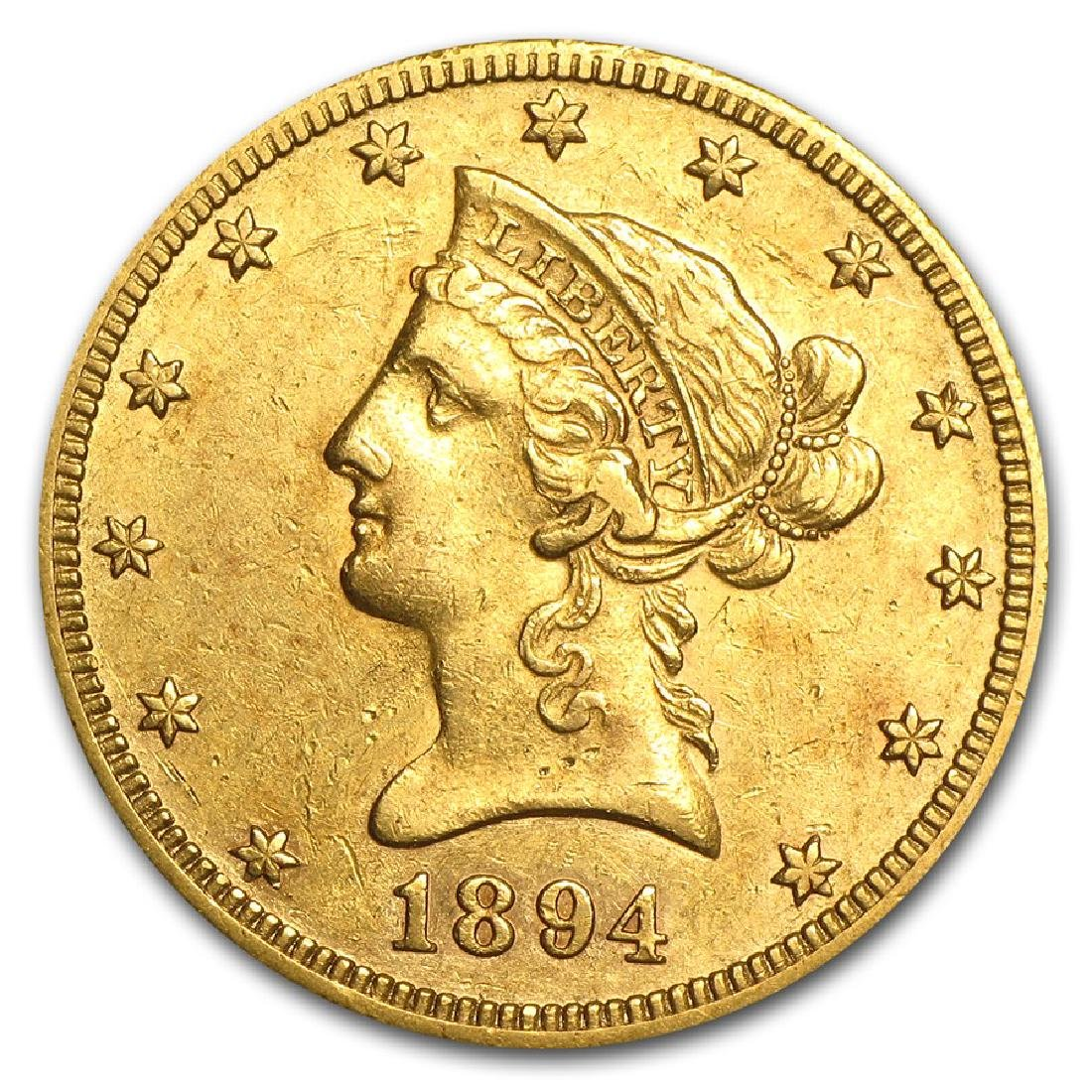 1894-O $10 Liberty Head Gold Coin