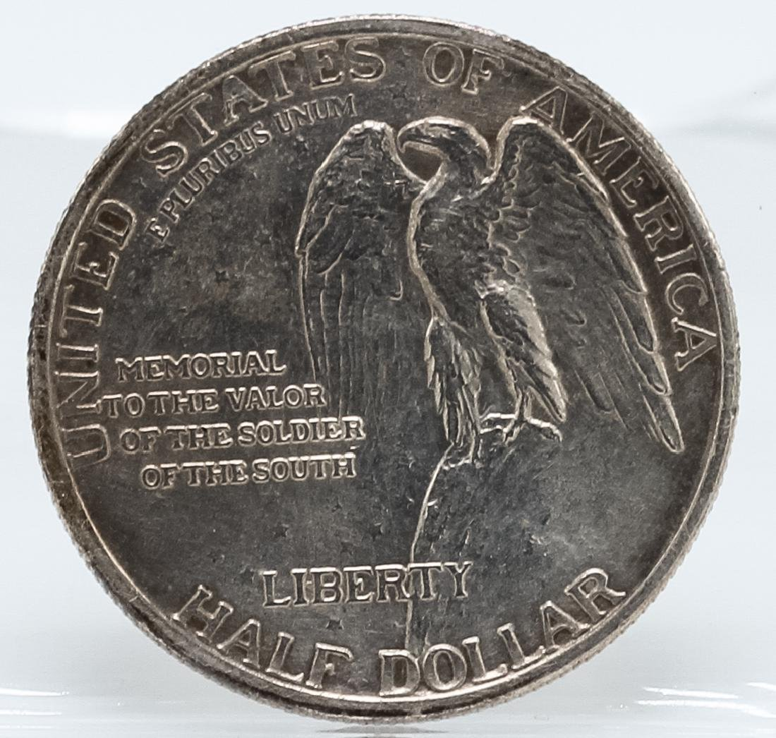 1925 Stone Mountain Commemorative Half Dollar Coin - 2