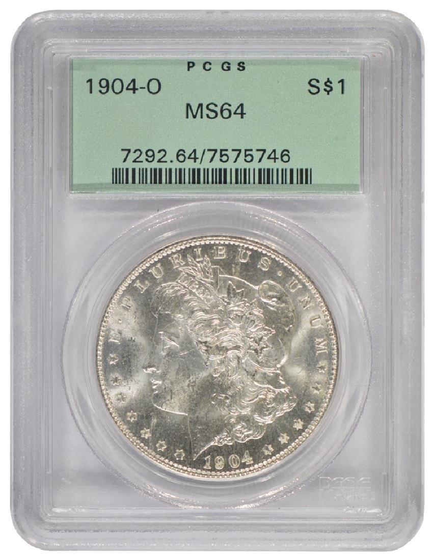 1904-O $1 Morgan Silver Dollar Coin PCGS MS64