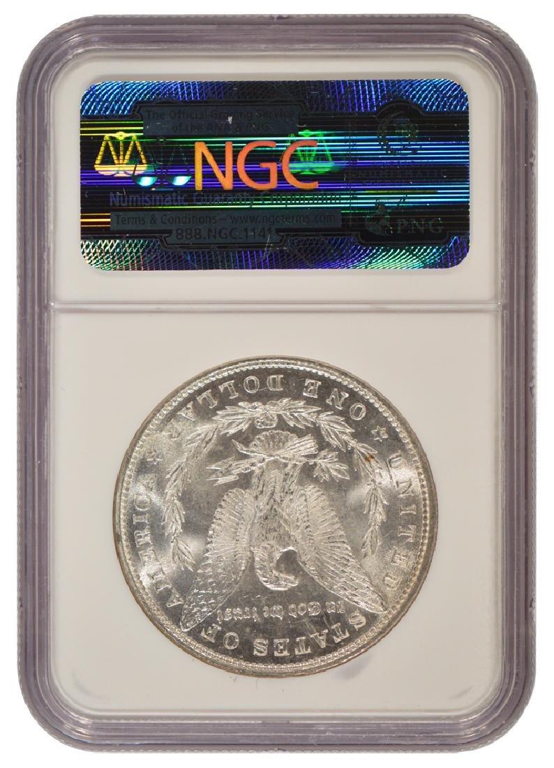 1879 $1 Morgan Silver Dollar Coin NGC MS63 - 2