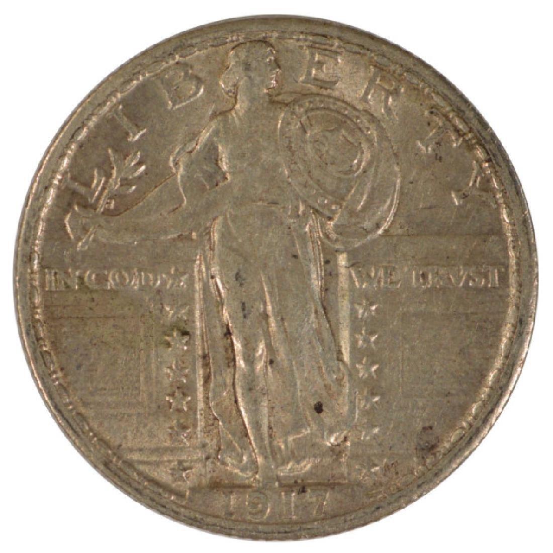 1917 Standing Liberty Quarter Type II