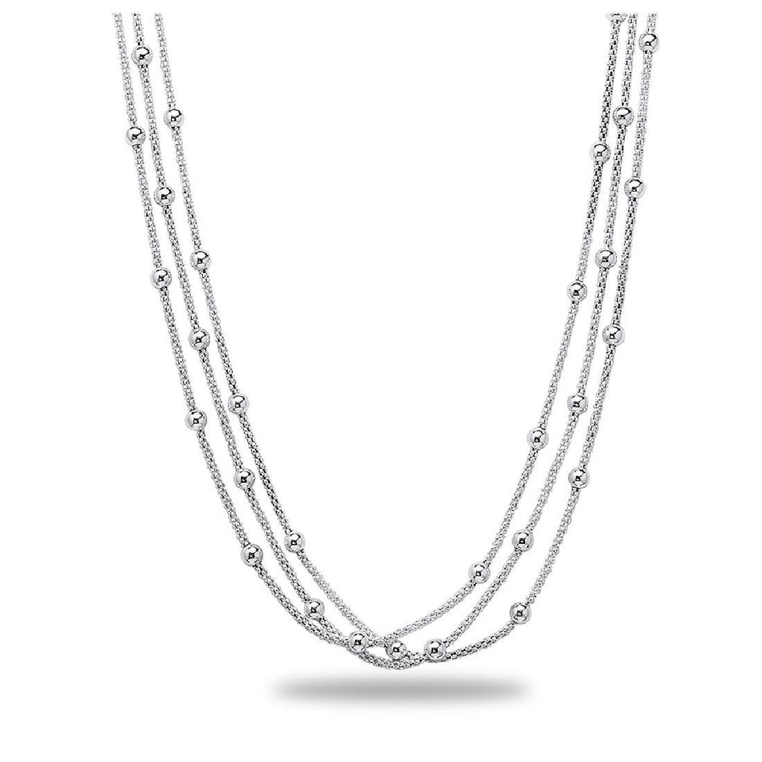 Sterling Silver Polished Necklace