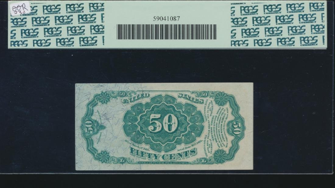 50 Cent Fifth Issue Fractional Note PCGS 65PPQ - 2