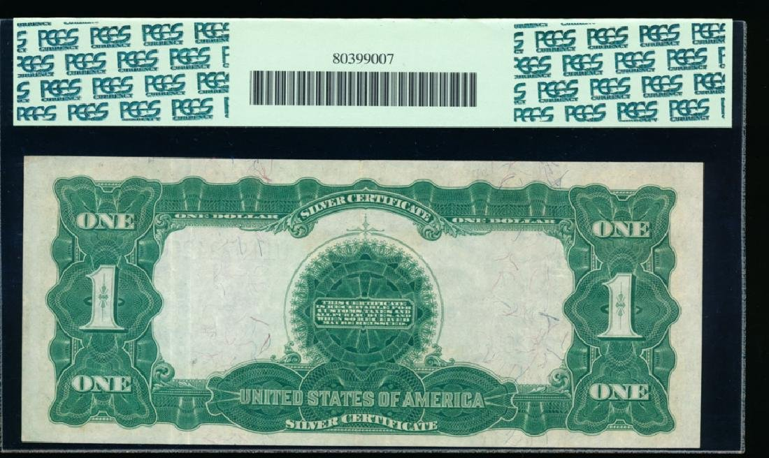 1899 $1 Black Eagle Silver Certificate PCGS 40PPQ - 2