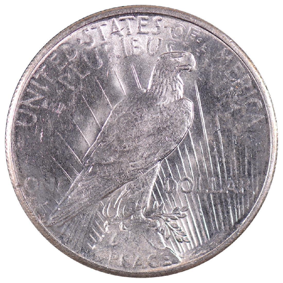 1926 $1 Peace Silver Dollar Coin - 2