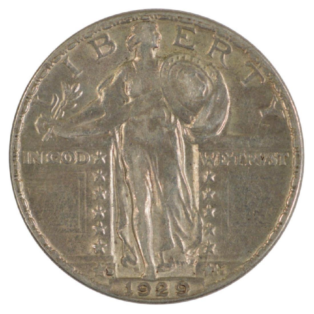 1929-D Standing Liberty Quarter Coin