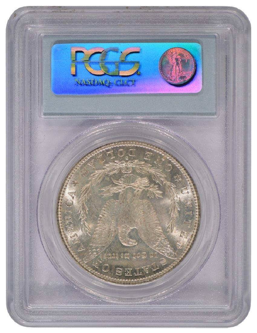 1882-S $1 Morgan Silver Dollar Coin PCGS MS63 - 2