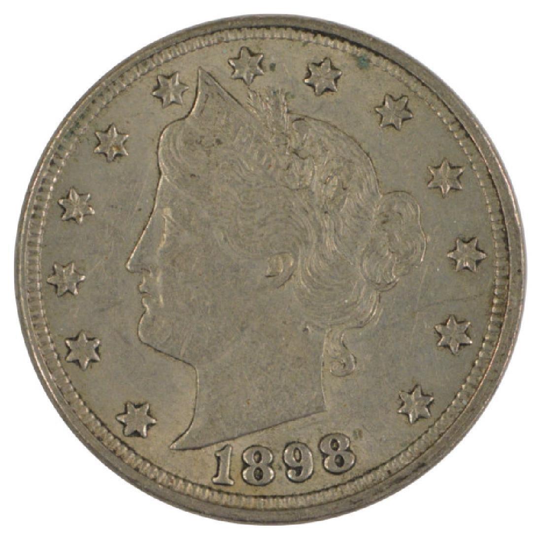 1898 Liberty Nickel Coin