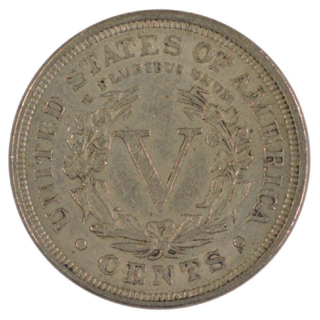 1898 Liberty Nickel Coin - 2