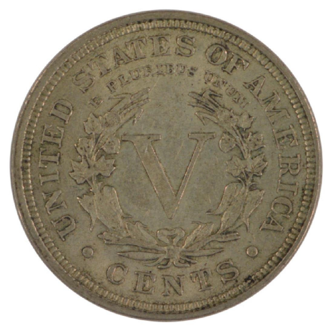 1899 Liberty Nickel Coin - 2