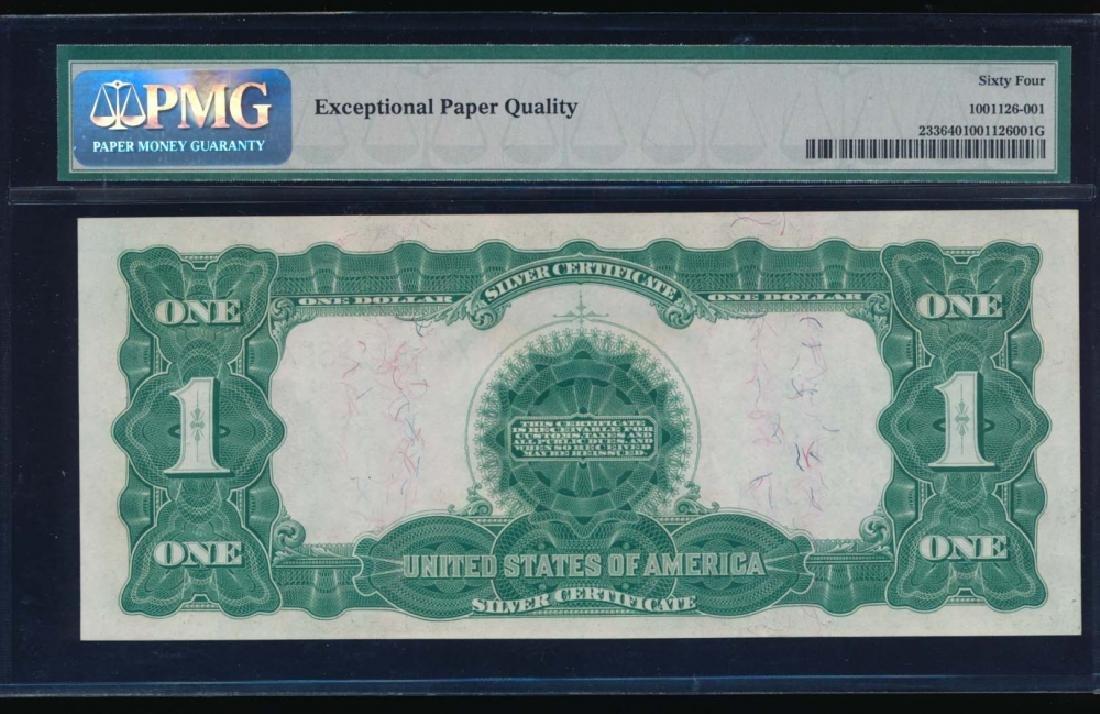 1899 $1 Black Eagle Silver Certificate PMG 64 - 2
