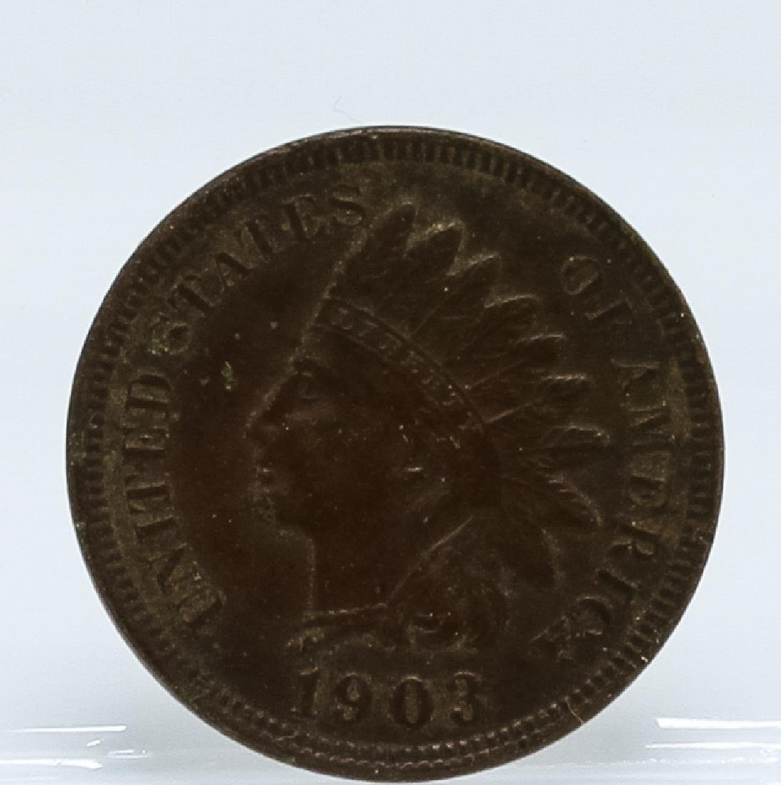 1903 Indian Head One Cent