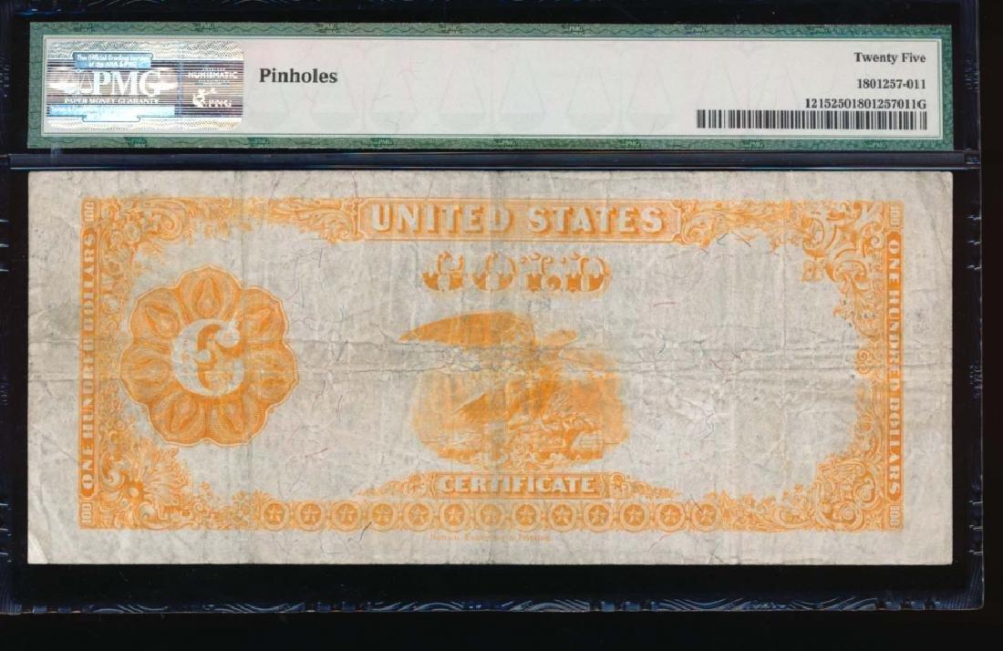 1922 $100 Gold Certificate PMG 25 - 2
