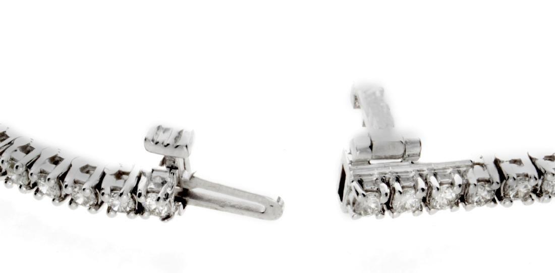 18KT White Gold 2.00ctw Diamond Tennis Bracelet - 2