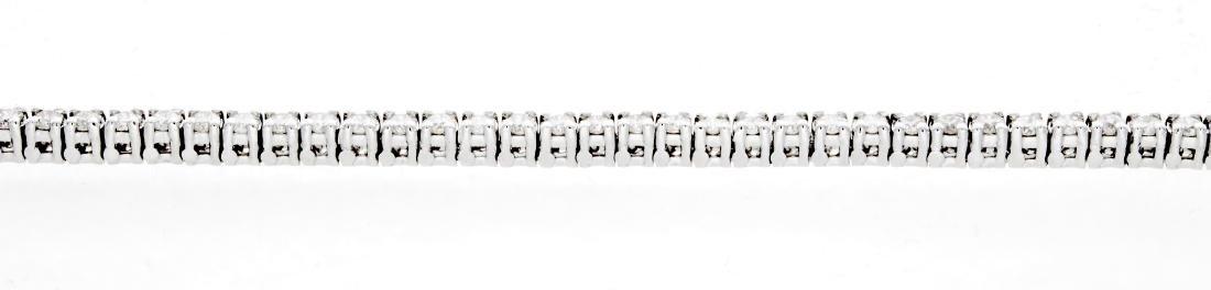18KT White Gold 2.00ctw Diamond Tennis Bracelet - 3