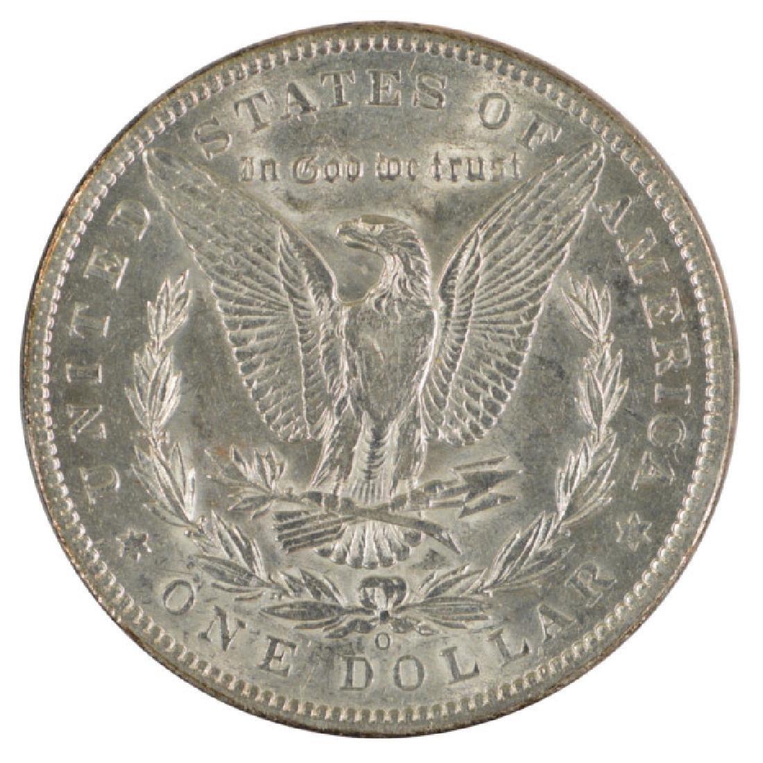 1892-O $1 Morgan Silver Dollar Coin - 2