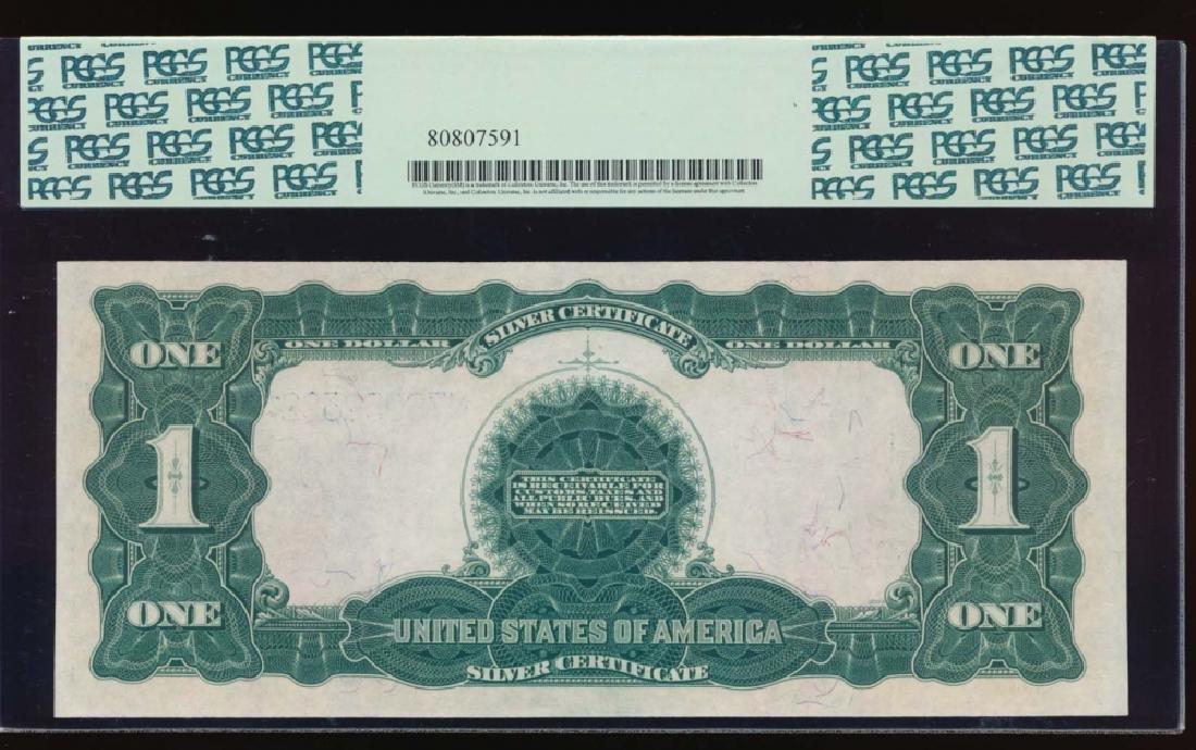 1899 $1 Black Eagle Silver Certificate PCGS 58 - 2